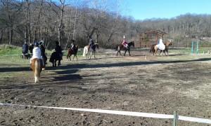 """spettacolo equestre """"Le streghe"""""""